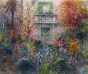il giardino del villino